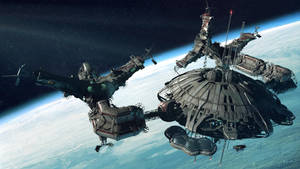 space station by Jett0