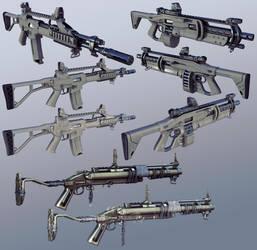 firearms by Jett0
