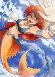 Sky Mermaid by Kriniere
