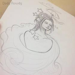 Art college mermaid by Doli-lolli