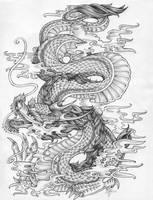 Dragon by Fleische