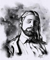 Self-portrait by agapetos