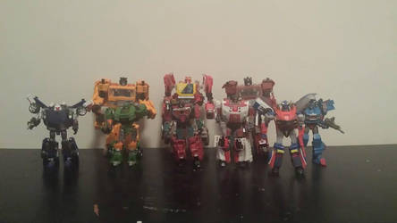 Season 2 Autobots by ShadowApook