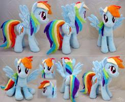 Rainbow Dash Plushie V2 by SewYouPlushieThings