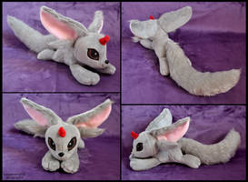 Carbuncle FFXV Plush by SewYouPlushieThings