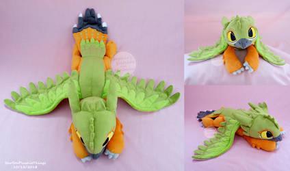 Xoli Birdfury Plush by SewYouPlushieThings
