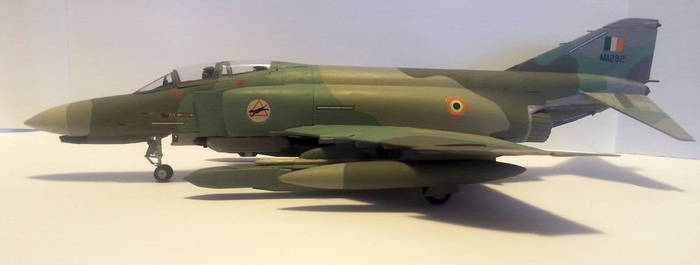 Indian Air Force F-4EM Phantom 2000 by Sport16ing