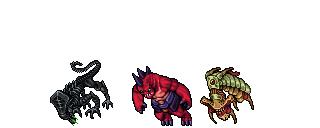 Tibian Like Monster by ivenmiller