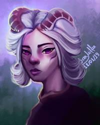 NightGirl by ivenmiller