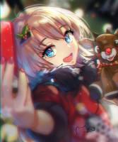 Christmas Selfie by MeowYin
