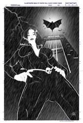 Batman and Talia Al Ghul by anthonywong33