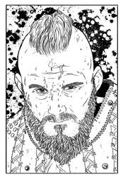 Bjorn (Line Art) by anthonywong33