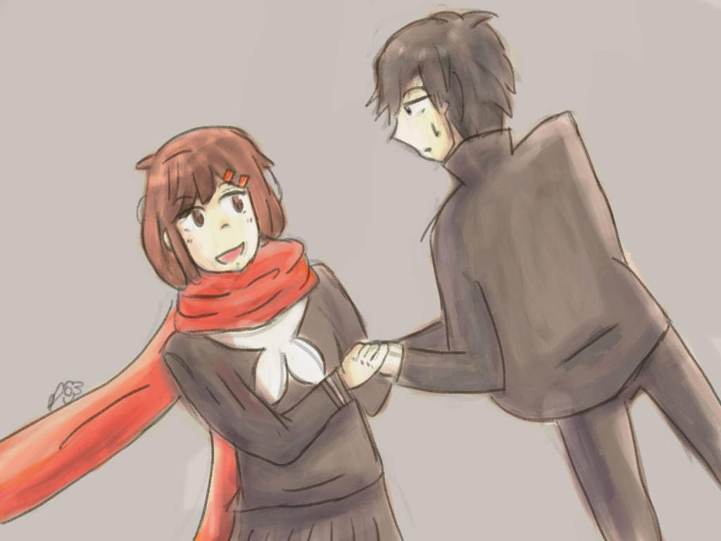 Ayano and Shintaro by Daisy68199