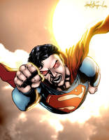Superman by Nightblade by wrathofkhan