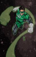 Hal Jordan by aaronturon by wrathofkhan