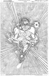 Hal Jordan by wrathofkhan