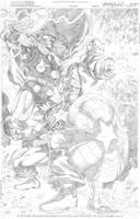 Avengers' Big Three by wrathofkhan