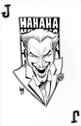 Joker sketch by wrathofkhan
