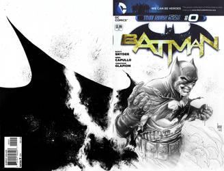 Batman #0 Sketch by wrathofkhan