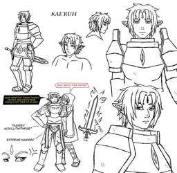 Drowtales Commission: Kae'ruh Kyorl'solenurn by FireBorg
