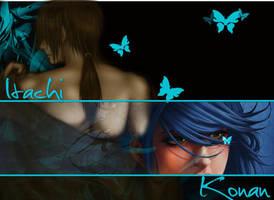 itachi and konan just us by Nilsa-konan-chan