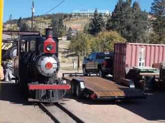Cripple Creek and Victor Narrow Gauge Railroad #1 by Trainpony