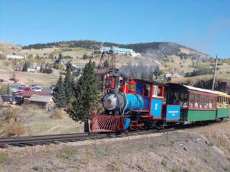Cripple Creek and Victor Narrow Gauge Railroad #2 by Trainpony
