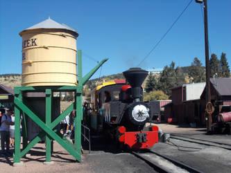Cripple Creek and Victor Narrow Gauge Railroad #3 by Trainpony