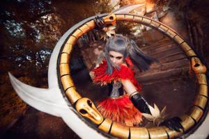 TIRA cosplay (Soul Calibur V) by Gellariot