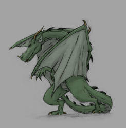 Mr. Dragon by Deathmonkey7
