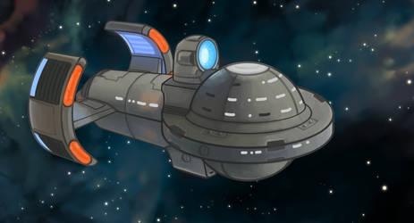 Trek Ship by icekatze