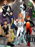 The Fabulous X-Men by Lightengale