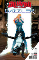 Domino with special guest Dazzler! by Lightengale