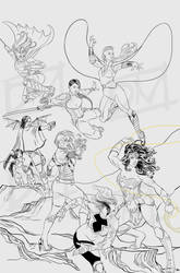 Multiverse Supergroup WIP by Lightengale