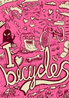 I love byicycles by koltzow