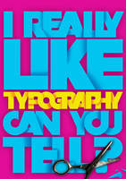 I like typography by koltzow