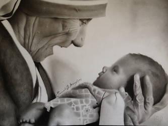 Madre Teresa by EmanueleDiMauro
