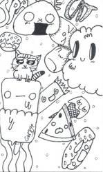 Space Cat (mini) / WIP by coriek99