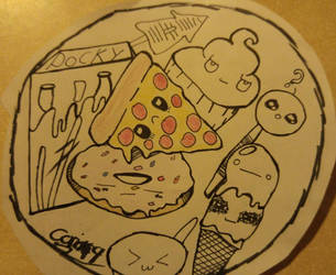Junk Food / Doodle by coriek99