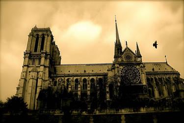 Notre Dame de Paris by Citoyen-du-monde