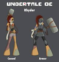 UT OC - Rhyder by HuggableRogue