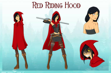 Rewritten OC - Red Riding Hood by HuggableRogue