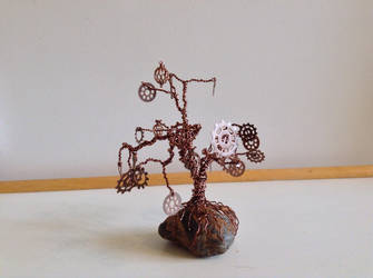 Steampunk Gear Tree 2 by Thia77
