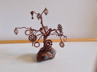 Steampunk Gear Tree 3 by Thia77