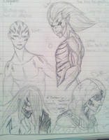 WIP - The Four Horsemen of the Apocalypse by TensaiProductionz