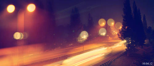 Light in Highway by Louis-XVII