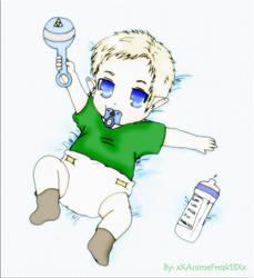 Baby Link :O by xXAnimefreak13Xx