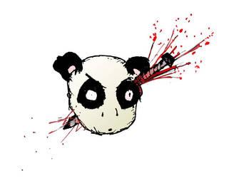 panda gets nailed by HeyPig