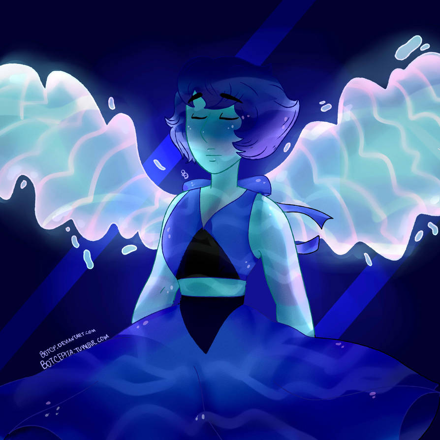 Lapis Lazuli, you fled into the bottom of the sea   Lapis Lazuli, you were so mad, but then you came around to me   Lapis is my last favorite Crystal Gem, but I will admit...