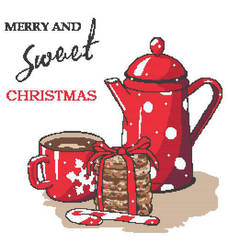 Merry and Sweet Christmas Cross Stitch Pattern by innazimovec